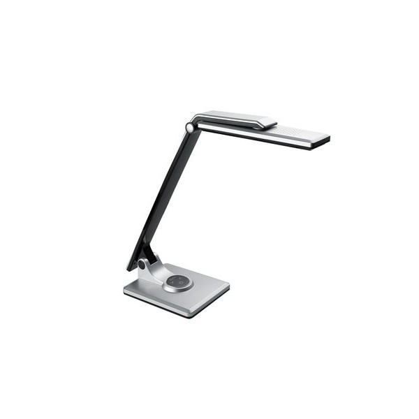 flexo-led-10w-plata-negro-regulable-5300k